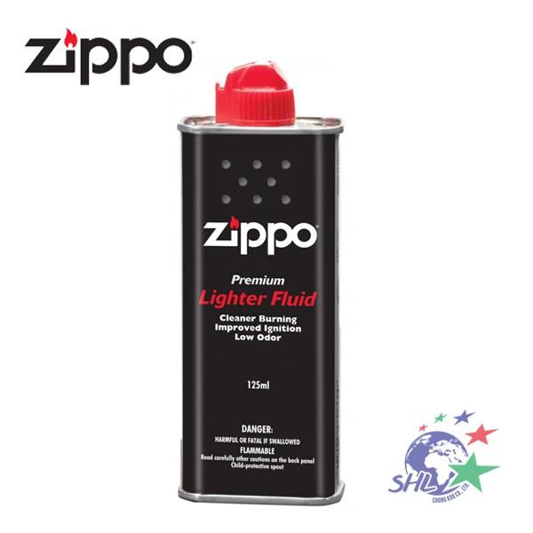 ZIPPO 美國經典防風打火機 Zippo | 原廠專用打火機補充油 / 煤油(小) 125ml 【詮國】