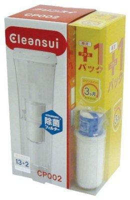 【超值組合包:三菱濾水壺+濾心2顆】日本Cleansui 三菱 CP002E 賣場另有CPC5=CPC5E 濾心
