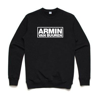 Armin van Buuren Logo 全球百大DJ 3色大學T純棉刷毛電音舞曲派對EDM