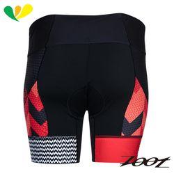 ZOOT 頂級碳離子6吋CC鐵人褲(女)(彩紋粉) Z1706002
