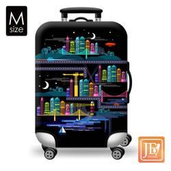 繽紛 行李箱套-星空城市M