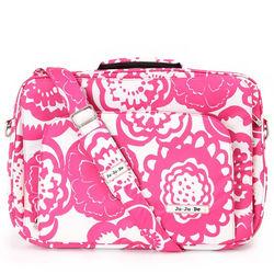 【美國Ju-Ju-Be】GigaBe萬用筆電包-Fuchsia Blossoms 魅彩繽紛