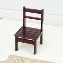 【傢俱屋】復古實木小椅-胡