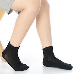 【KEROPPA】7~12歲學童專用毛巾底氣墊短襪x4雙C93003