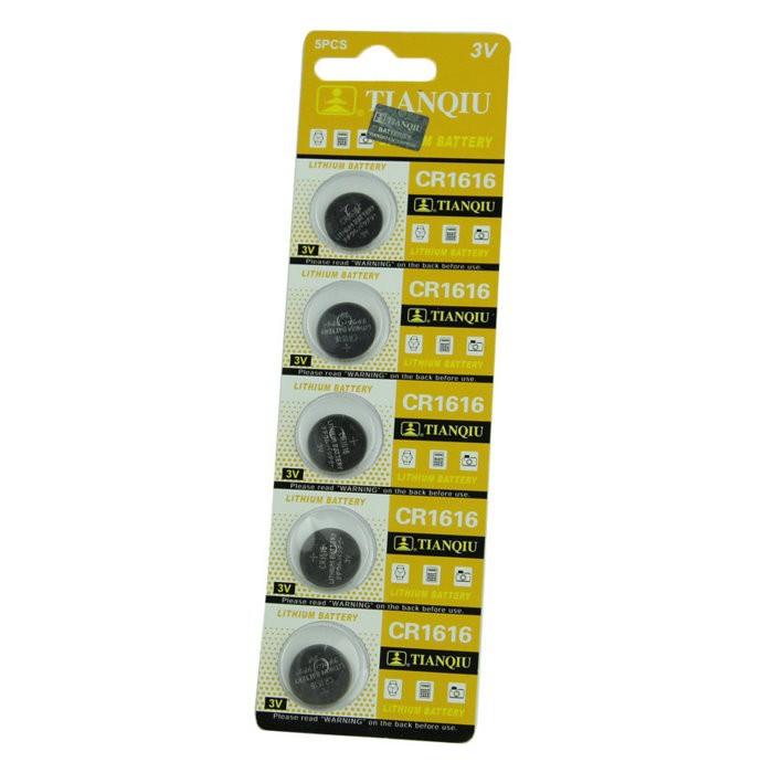 環保型鈕扣電池/水銀電池CR1616(一卡5顆)~不拆售【GU206】