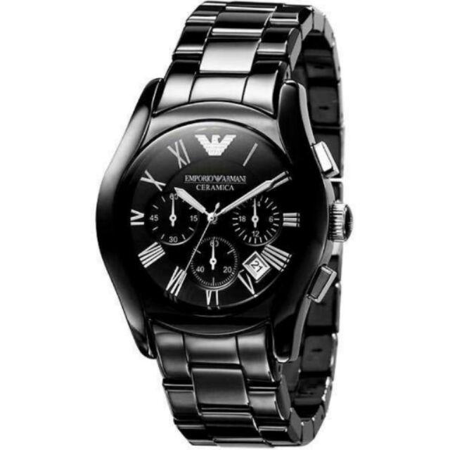 ARMANI AR1400 世界熱銷陶瓷錶 三眼計時設計 錶現精品 原廠正品