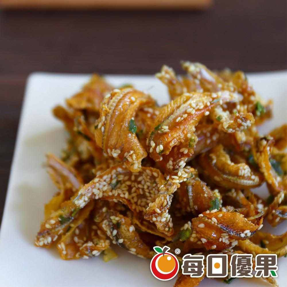 每日優果 蔥燒黃金魚酥160G