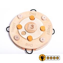 靈靈狗 - 生日蛋糕輪盤-寵物桌遊/益智玩具/互動遊戲