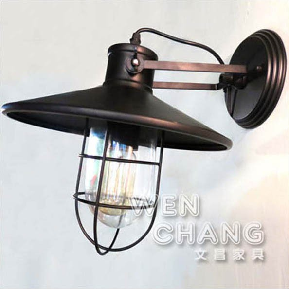 LOFT 工業 倉庫 風格 防爆船艙壁燈 吸頂燈 LB-006 文昌家具
