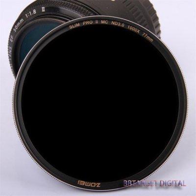 ((BBTARGET數位館)) ZOMEI SLIM PRO II MC ND1000  銀絲超薄三防減光鏡 67MM