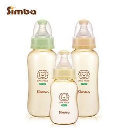 【小獅王辛巴】PPSU健康標準葫蘆奶瓶經濟組(2大1小)