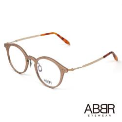 ABBR 北歐瑞典鋁合金設計NP系列光學眼鏡(玫瑰金) NP-01-003-Z18