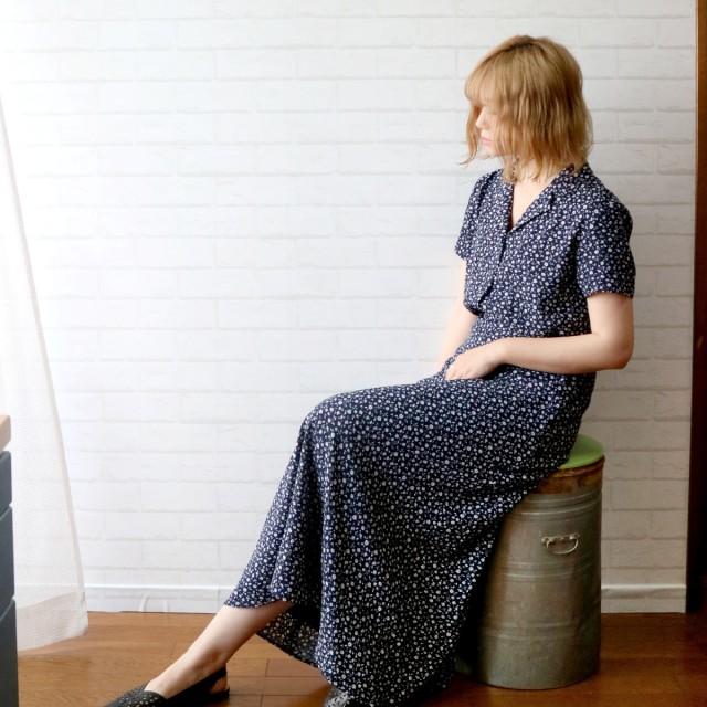 シャツ - LADY LIKE 【Lady like】小花柄シャツ トップス シャツ 羽織 花 小花 フラワー デート 着回し