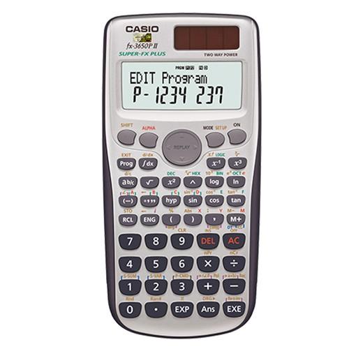 【CASIO】FX-3650P II 程式編輯科學型 計算機正版宏崑公司貨-超商加購