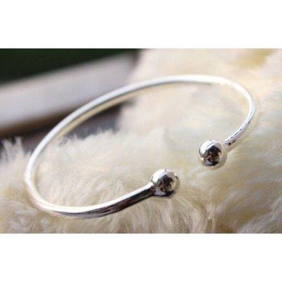 #現貨 蒜頭手鐲925純銀手環