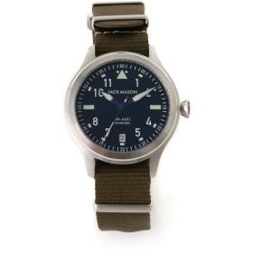 JACK MASON JACK MASON ジャックメイソン 腕時計 日本限定 JM-A401-002(AVIATION) 腕時計,ブラック