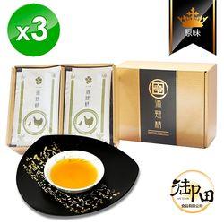 御田 頂級黑羽土雞精品 手作原味滴雞精 10入禮盒x3盒