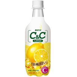 黑松 C&C氣泡飲-檸檬口味500ml(24入)