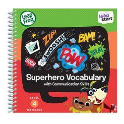美國【LeapFrog 跳跳蛙】LeapStart Sr.全英兒童學習書籍 兒童6- 超級英雄故事島