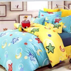【幸運草】均一價-多款任選-100%40支絲光精梳純棉被套床包組-獨立筒適用
