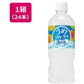 シヤチハタ天然水 うめソルティ 540ml×24本F497524