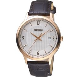 SEIKO 經典雋永紳士腕錶(SGEH88P1)41mm 7N42-0GJ0K