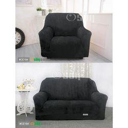 Osun-一體成型防蹣彈性沙發套 厚棉絨溫暖柔順_1+2人座 多款任選 CE-184
