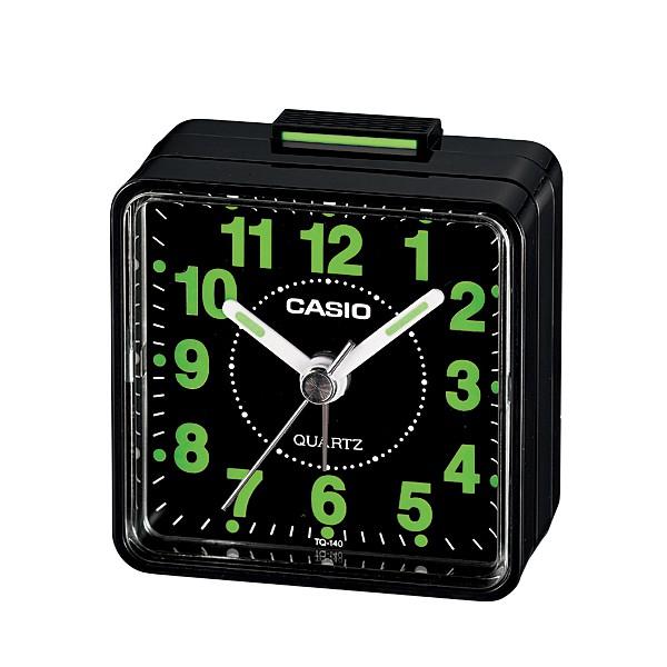 【CASIO卡西歐】簡約鬧鐘系列/TQ-140-1
