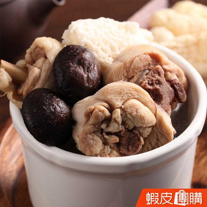 商品名稱:金線蓮雞湯產品規格:410g/包 (固形物120g)產品產地:台灣建議烹調:解凍後,充分加熱即可食用 產品成分:上選雞肉、金線蓮、高湯、鹽營養成份:《每100公克》熱量 130 大卡蛋白質