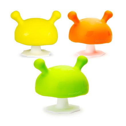 Mombella Q比小蘑菇固齒器-5色可選【佳兒園婦幼館】