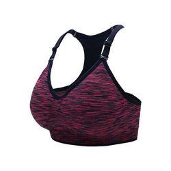 【INSTAR】細肩帶女運動內衣-運動BAR 背心 韻律 有氧 瑜珈 比基尼 紫丈青
