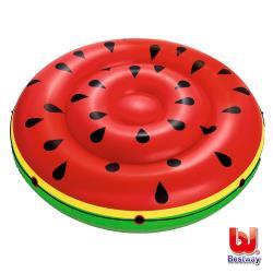 哈街 Bestway 西瓜雙人水上充氣浮排/浮床/氣墊43140