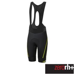 ZeroRH+ 義大利專業 Absolute AirX 男仕競賽級吊帶自行車褲(黑/螢光黃) ECU0517_917