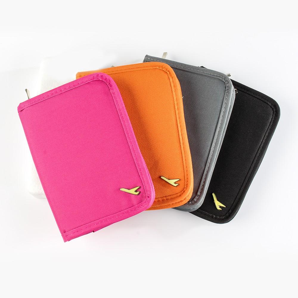 旅行多功能小飛機護照包 收納包 收納袋夾 證件包 韓版 (四色可選)【S020】