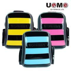 UnMe 雙層透氣蜂書包(黃/藍/桃紅)