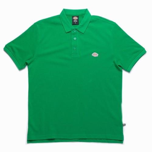 【DICKIES】WDT18103 PATCH POLO SHIRT 短袖POLO衫 (綠色) 化學原宿