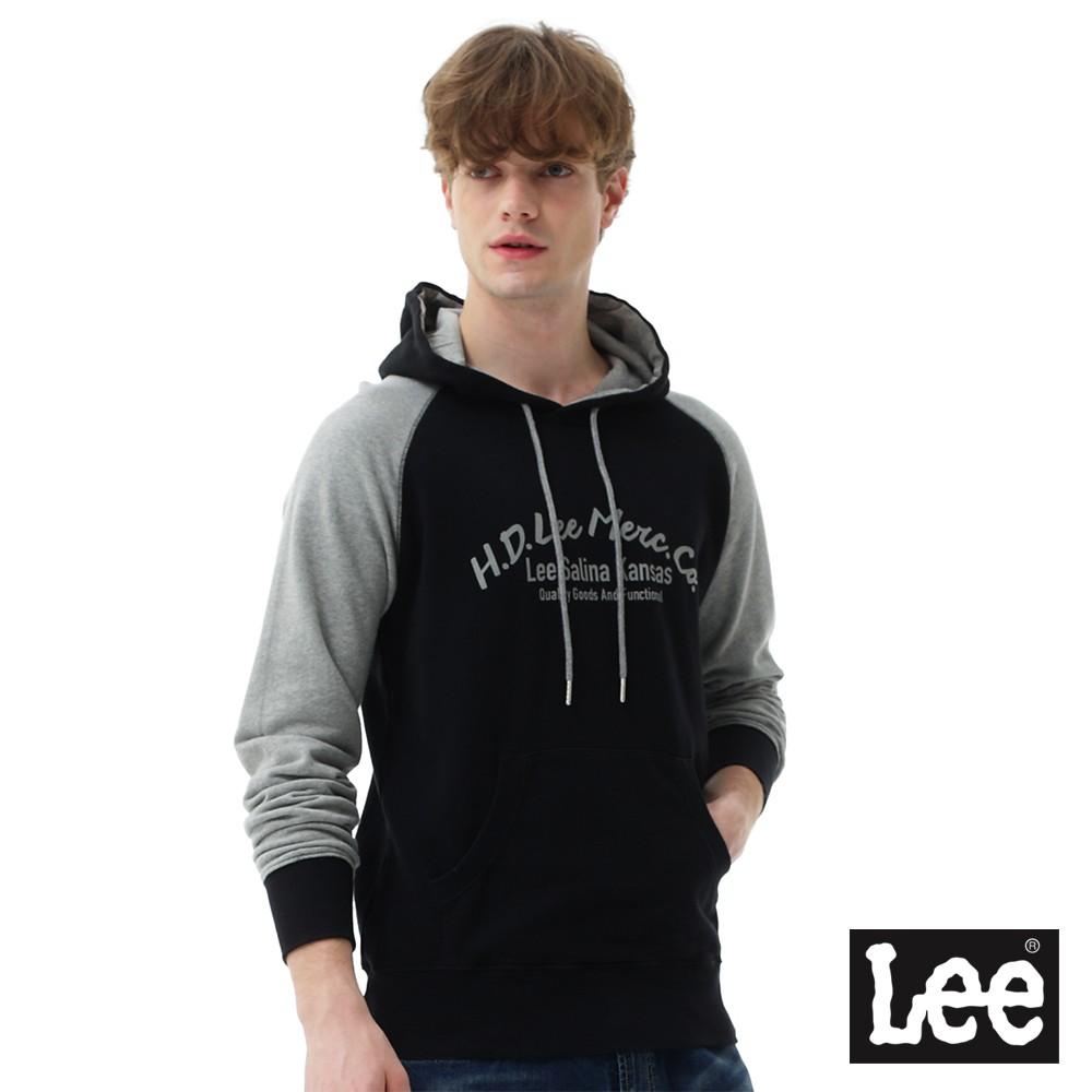 Lee HD LEE連帽厚T恤 男 藍 Mainline