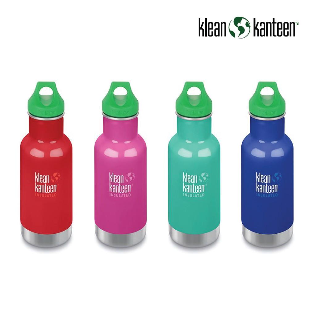 【美國Klean Kanteen】幼童窄口不鏽鋼保溫瓶-355ml