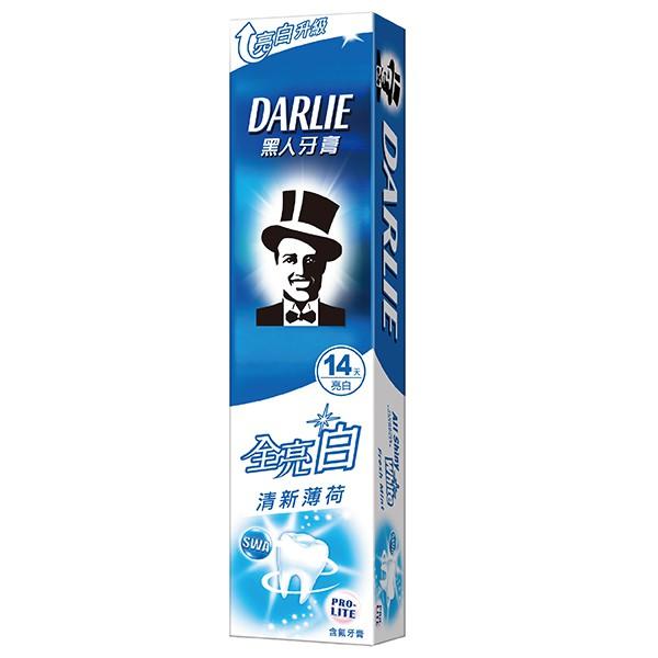 黑人全亮白清新薄荷牙膏140g【康是美】
