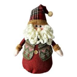 紅帽聖誕老公公布偶擺飾