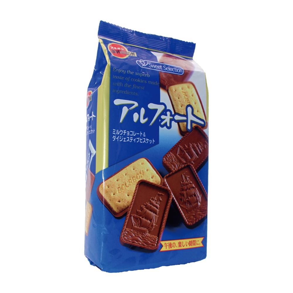 【買一送一】Bourbon 北日本帆船巧克力餅乾(111.1g) 商品效期:2019/6/30