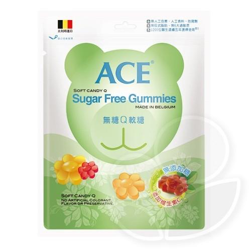 ACE 無糖Q軟糖240g【佳兒園婦幼館】