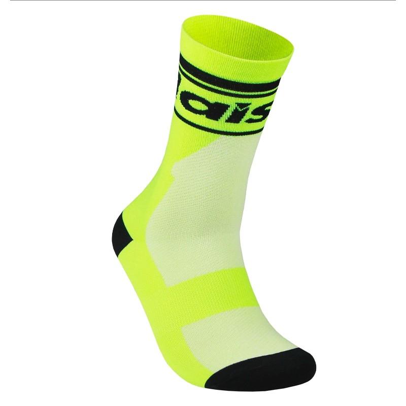 BAISKY百士奇 運動襪 經典螢光綠 自行車襪