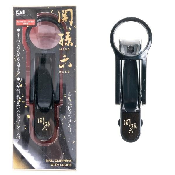 日本貝印 (KAI) 關孫六放大鏡指甲剪 HC-3523
