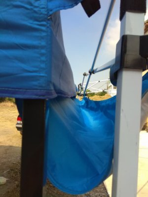 (囤貨王) 連接導水布 炊事帳棚 客廳帳蓬 併帳專用連接布 接水槽 水溝 導水槽 連接布導 導水片 連接片 連接排水槽