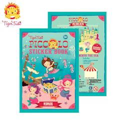 【BabyTiger虎兒寶】TIGER TRIBE 遊戲貼紙口袋書 - 可愛美人魚