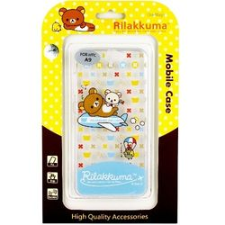 Rilakkuma 拉拉熊 HTC One A9 彩繪透明保護軟套-環遊世界