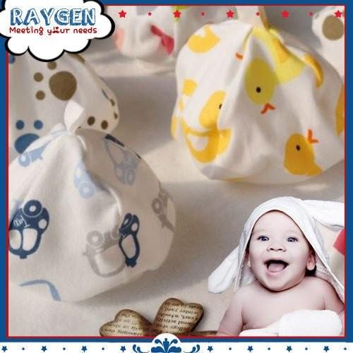 100%純棉初生嬰兒帽/棉質帽/帽子(可挑男女不挑款)【2F401C0928】