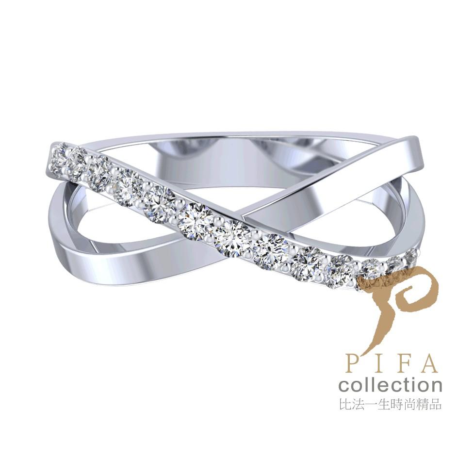 【比法一生】情侶對戒-特別(女款) 純銀925手作飾品