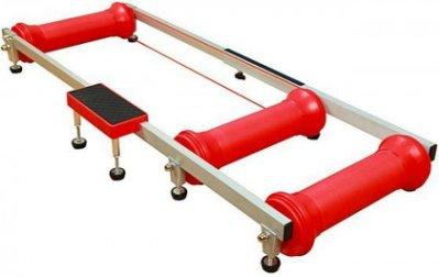 【小謙單車】全新培林滾筒式訓練台/滾筒練習台-實現自主訓練需求[附兩條傳動帶]--紅/黑色二色可選